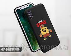 Силиконовый чехол для Apple Iphone XS Brawl Stars (Бравл Старс) (4026-3336), фото 3