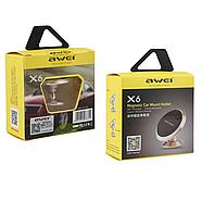 Холдер Awei X6 Silver, фото 2