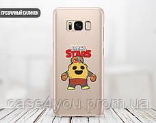 Силиконовый чехол для Huawei Honor 8 Brawl Stars (Бравл Старс) (13003-3336), фото 2