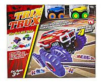 Монстер-Траки Trix Trux на 2 машинки (BB883), фото 1