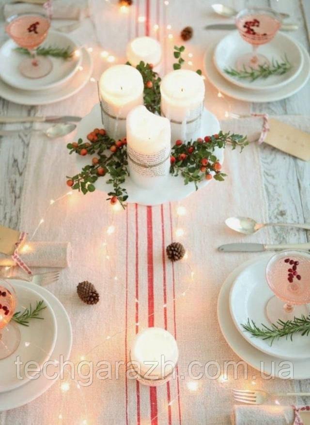 Свечи. Идеи новогоднего декора