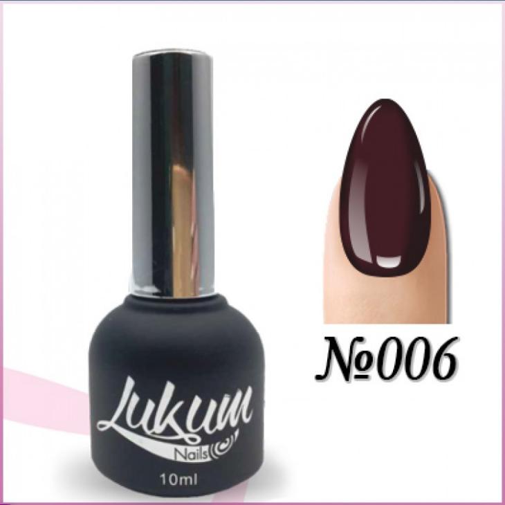 Гель лак Lukum Nails № 006