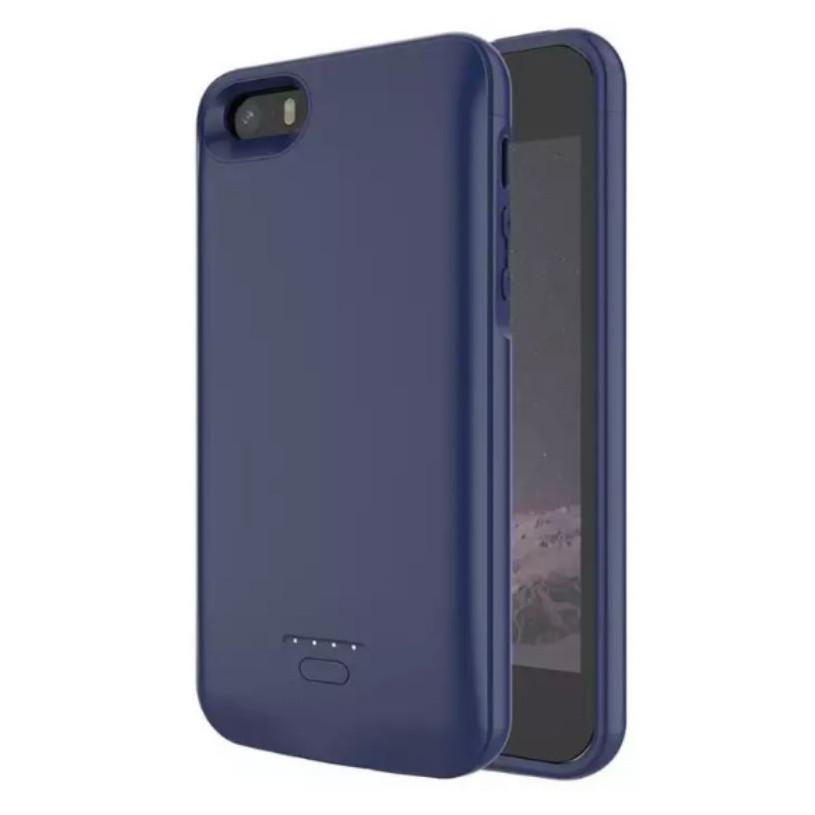 Чехол-аккумулятор для iPhone 5 Синий (4000 мАч)