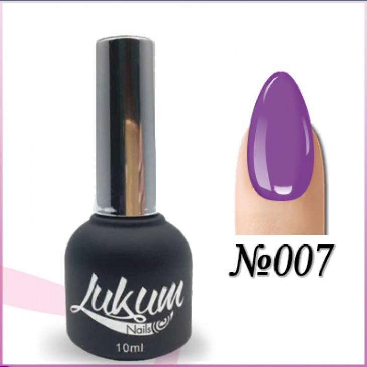Гель лак Lukum Nails № 007