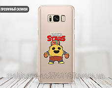 Силиконовый чехол для Samsung A805 Galaxy A80 Brawl Stars (Бравл Старс) (13024-3336), фото 2