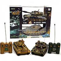Танковый бой - Танки T-90 и KingTiger на радиоуправлении арт.99821. Погрузись в мир игры танков World of Tanks, фото 1