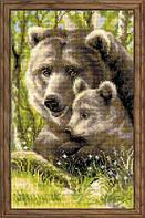 1438 Медведица с медвежонком