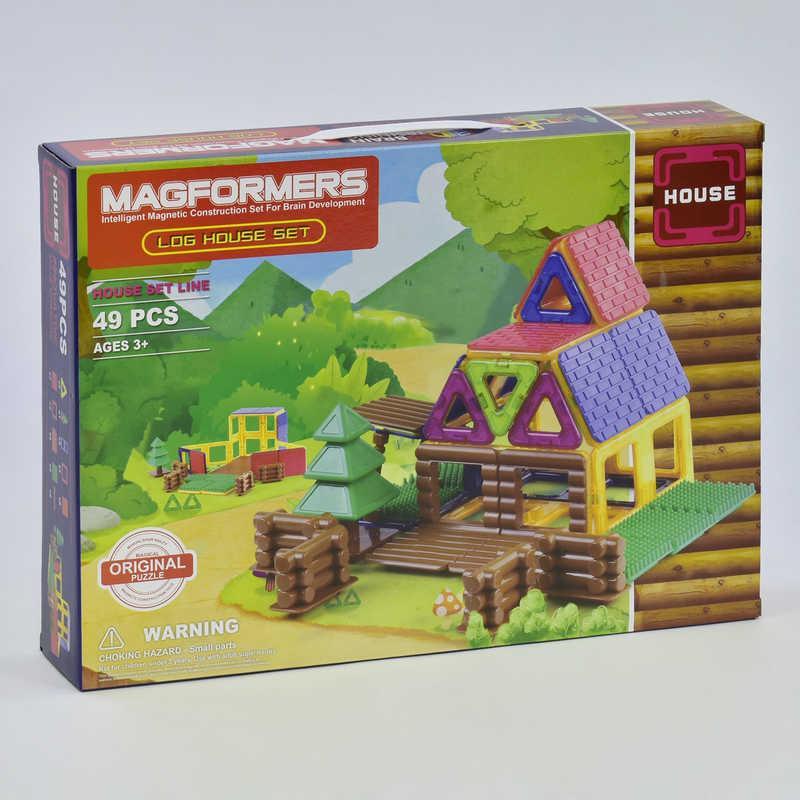 Конструктор Magformers магнитный Домик 49 деталей (1-73816)