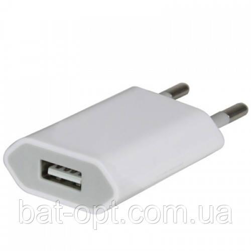 Сетевое зарядное устройство VD-07 1USB 1A белый
