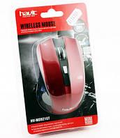 Мышь HAVIT HV-M921GT Wireless USB, red