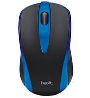 Мышь проводная HAVIT HV-MS675 USB, синяя