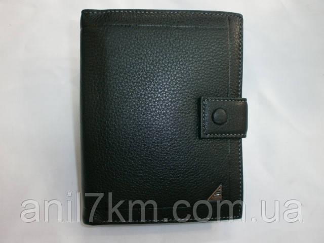 Чоловічий шкіряний гаманець фірми Verity для грошей і документів