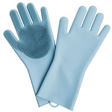 Силиконовые перчатки Xiaomi Jordan-Judy Silicone Gloves Blue