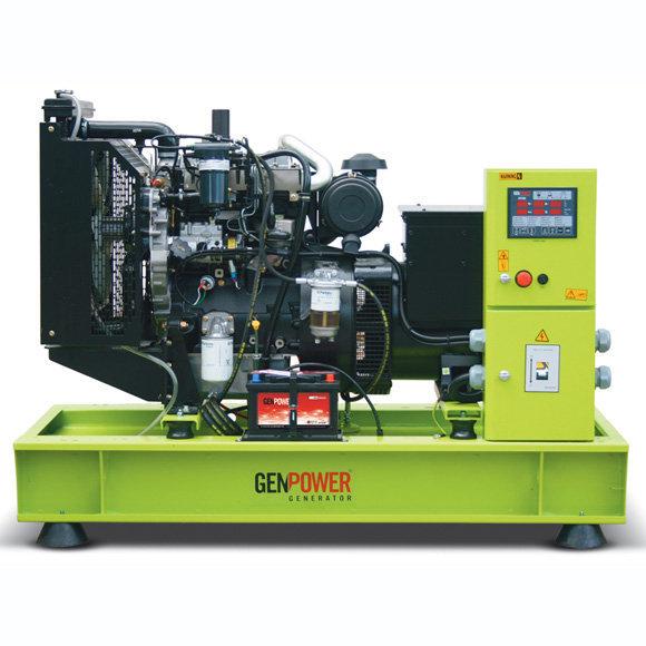 Трехфазный дизельный генератор Genpower GPR-33 (26.4 кВт)