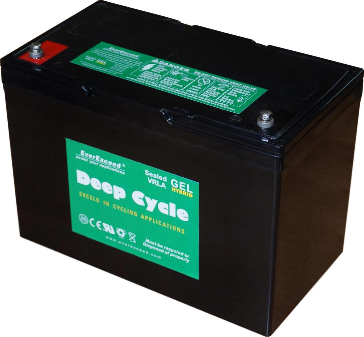 Гелевий акумулятор EverExceed DH-12100G