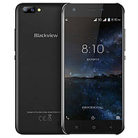 "Смартфон Blackview A7 Black черный (2SIM) 5"" 1/8GB 2/5+5Мп 3G оригинал Гарантия!"