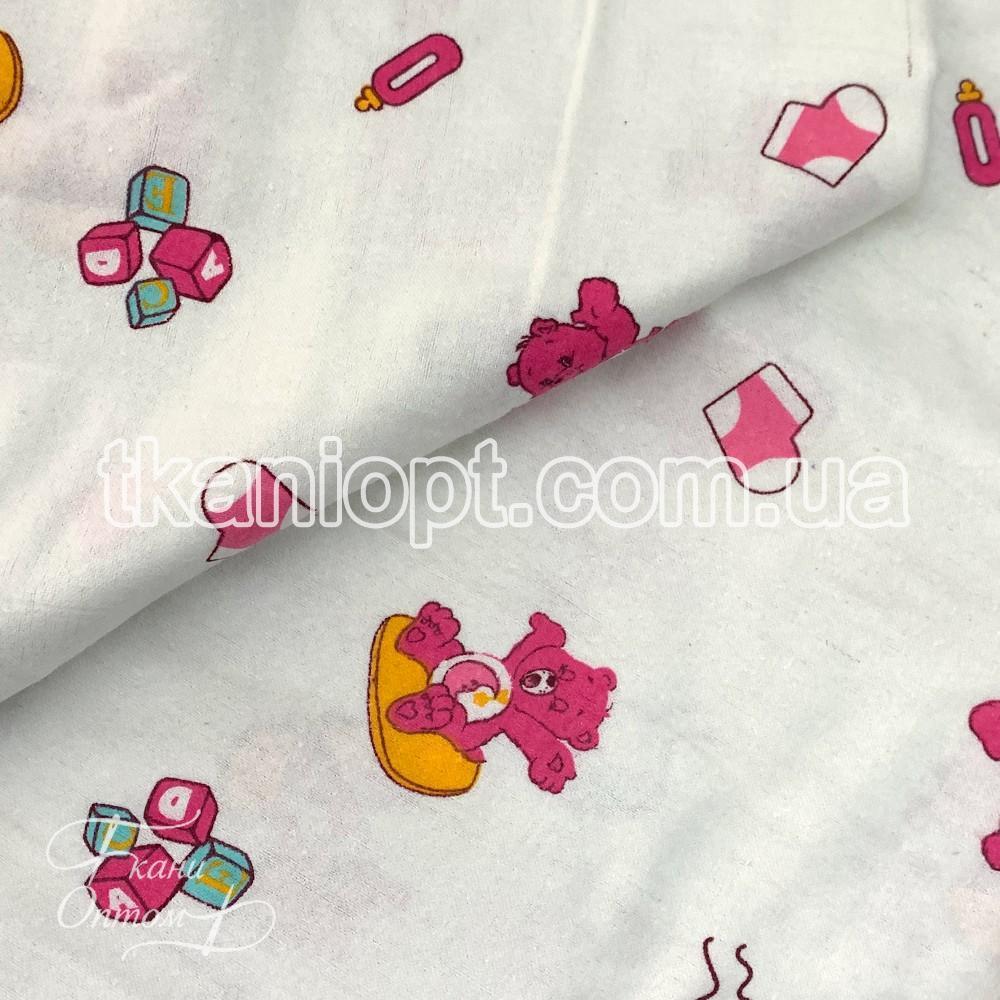 Ткань Фланель детская (мишки)
