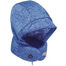 Подушка для шеи с капюшоном и наушниками Xiaomi Xiaobao with Neck Pillow Blue (STT-0575)