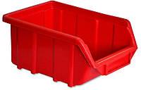 Емкость для мастерской Средняя красная Technics 52-597 ящик для хранения, инструмента, саморезов, мелких