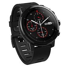 Смарт часы Amazfit Stratos Sport Black черный оригинал Гарантия!