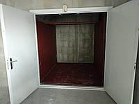 Грузовой лифт в ж/б шахте проходной 1000 кг