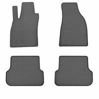 Комплект резиновых ковриков в салон автомобиля Audi A4 B7 2004-2007 (1030064)