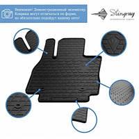 Комплект резиновых ковриков в салон автомобиля Audi A8 (D5) 2018- (1030224)