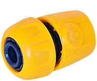 Коннектор пластиковый 1/2 VERANO 72-100 | Конектор пластиковий 1/2 VERANO 72-100, фото 1