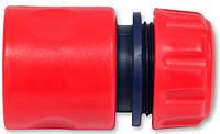 Коннектор 1/2 Technics 72-400 фитинг переходник для пистолета крана поливалки шланга распылителя , фото 1