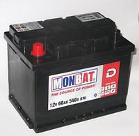Аккумулятор Monbat 6СТ-60 MF