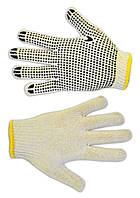 Перчатки вязанные серые с вкраплением, L Technics 16-001 | Рукавички плетені сірі з вкрапленням, L Technics