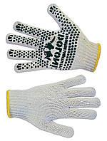 Перчатки вязанные с вкраплением, L Украина 16-023 | Рукавички плетені з вкрапленням, L Украина 16-023