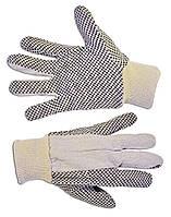 Перчатки х/б с резиновым вкраплением, L Technics 16-050 | Рукавички б/п з гумовим вкрапленням, L Technics