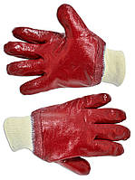 Перчатки резиновыемаслостойкие с манжетом 27см Technics 16-201 | Рукавичкигумові олієстійкі зманжетом 27 см