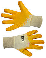 Перчатки с латексным покрытием Technics 16-203 | Рукавички златексним покриттям Technics 16-203