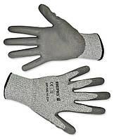 Перчатки с защитой от порезов, матовый полимер, L-XL Berg 16-234 | Рукавички з захистом від порізів,матовий
