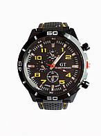 Часы мужские кварцевые GТ-200Y Черный, КОД: 115920