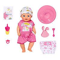 Интерактивная кукла Беби Борн Нежные объятия Очаровательная малышка Zapf Creation BABY born Soft Touch