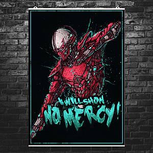 "Постер ""Mortal Kombat. Сектор, Sektor"". Мортал Комбат. Размер 60x42см (A2). Глянцевая бумага"