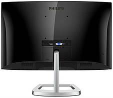 "Монитор Philips 23.6"" 248E9QHSB/00 VA Black/Silver Curved; 1920x1080, 4 мс, 250 кд/м2, D-Sub, HDMI, фото 3"
