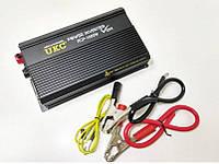 Преобразователь напряжения (инвертор) UKC RCP-1000Вт DC/AC 12В-220В, выход USB 5В, фото 1