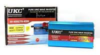 Преобразователь напряжения (инвертор) чистая синусоида UKC 400Вт DC/AC 12В-220В, выход USB 5В, фото 1