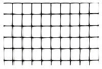 Сетка ограждающая полимерная, 50г/м2, ячейка 21х21, 1х200м VERANO 68-904   Сітка огороджувальна полімерна,