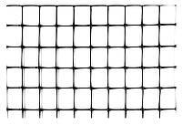 Сітка огороджувальна полімерна, 50 г/м2, вічко 21х21, 1х200м Verano 68-904   сетка полим
