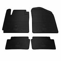 Комплект резиновых ковриков в салон автомобиля Kia Picanto 2011- (1009184)
