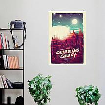 """Постер """"Стражи Галактики. A bunch of a-holes"""". Guardians of the Galaxy. Размер 60x43см (A2). Глянцевая бумага, фото 3"""