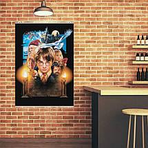 """Постер """"Гарри Поттер и философский камень"""". Harry Potter. Размер 60x42см (A2). Глянцевая бумага, фото 3"""