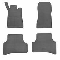 Комплект резиновых ковриков в салон автомобиля Mercedes W203 (1012134)
