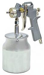 Фарбопульт пневматичний з нижнім бачком 1000мл Technics 52-700 | пистолет краскопульт