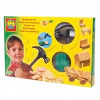 Набор для работ по дереву Маленький мастер с молотком